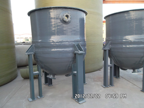 FRP lined PP Reactor
